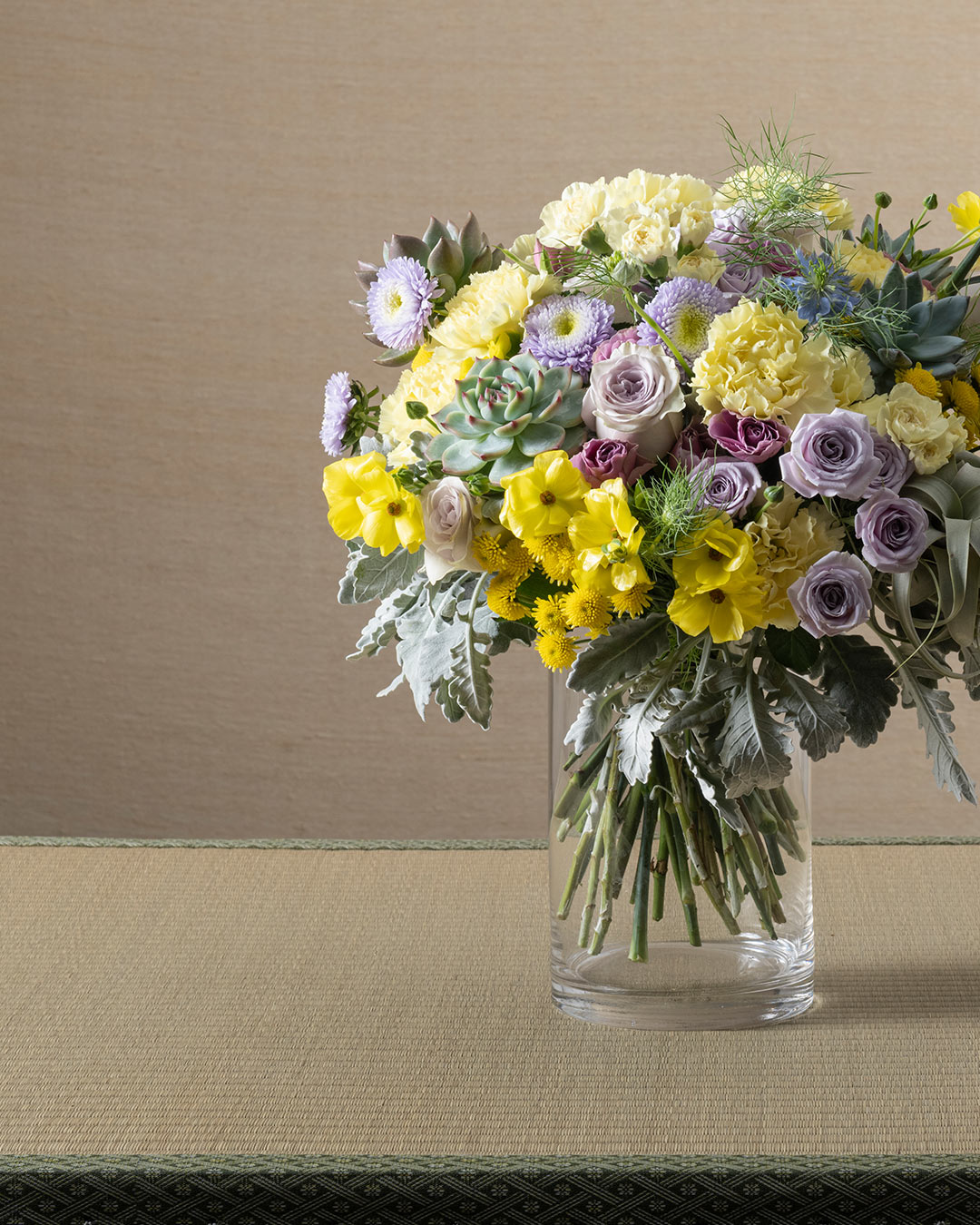 Mobile banner image of Mother's Day flower bouquet of Carnation and Rose for the online flower collection